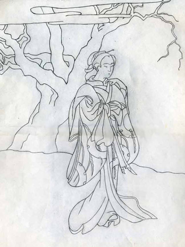 рисунок для батика