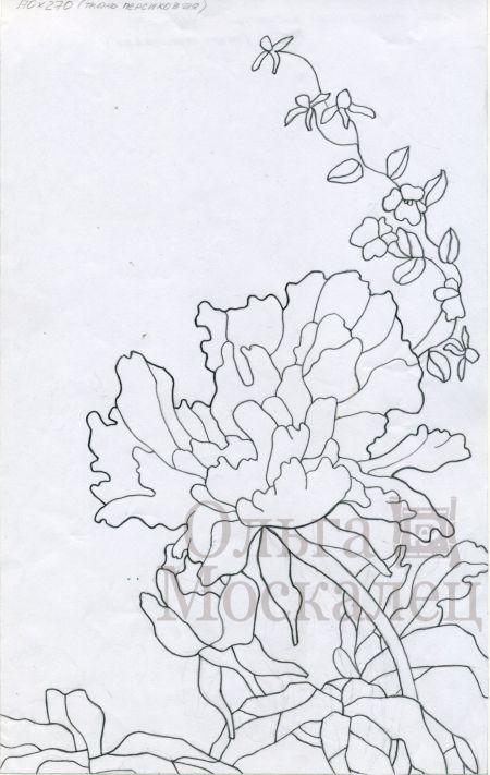 Батик рисунки батик и дизайн ольги