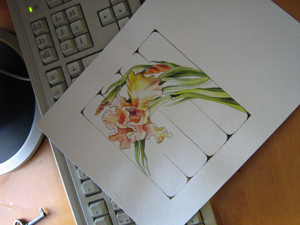 эскиз росписи