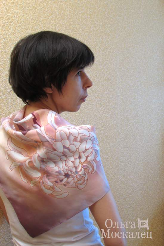 Сиреневый платок