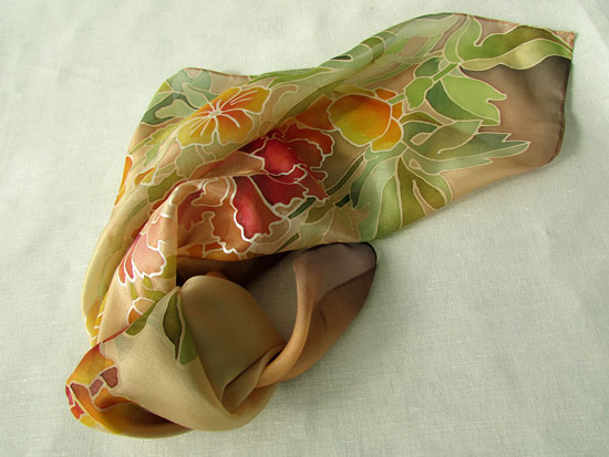 Peonies_on_a_scarf