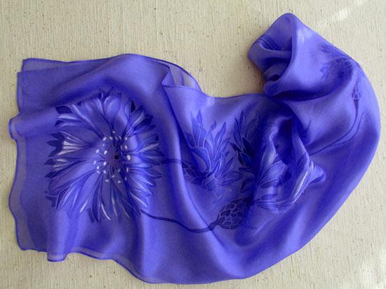 Cornflowers_scarf